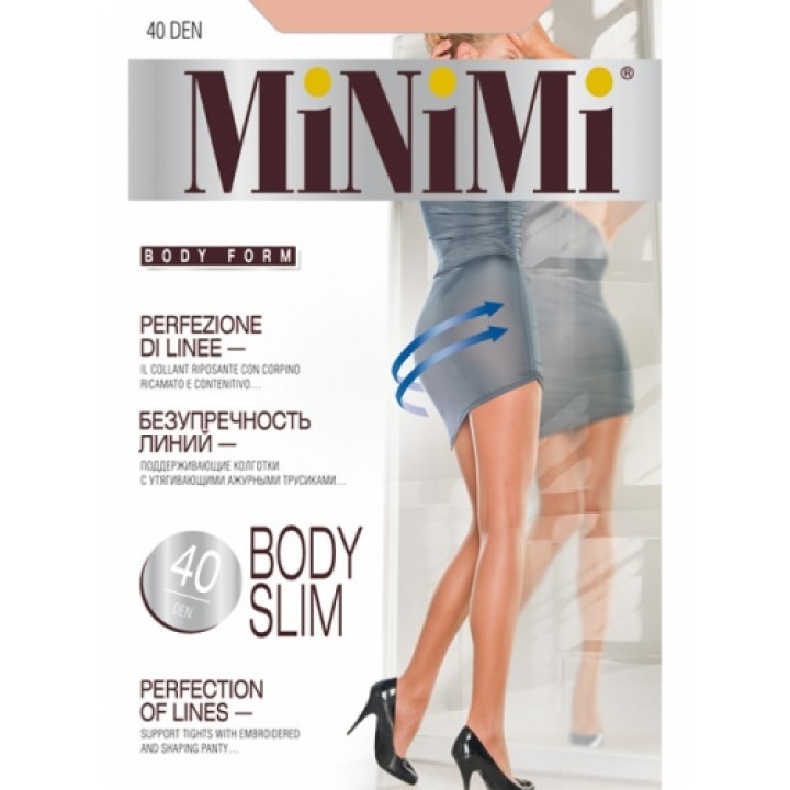 Колготки женские MINIMI BODY SLIM 40 min